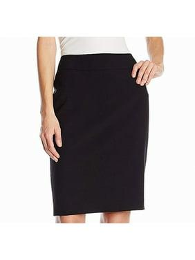 6237d4bd168346 Product Image Women's Plus Crepe Straight Pencil Skirt 16W