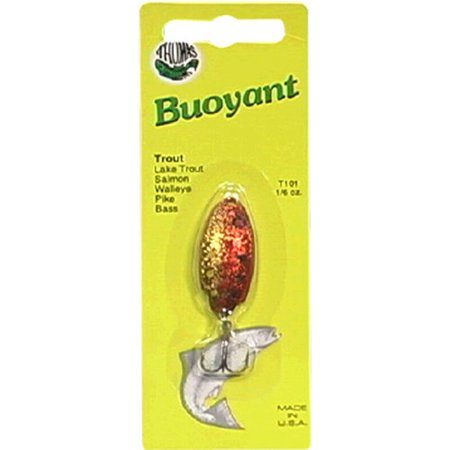 Thomas Buoyant Minnow, Brown Trout, 1/6 oz