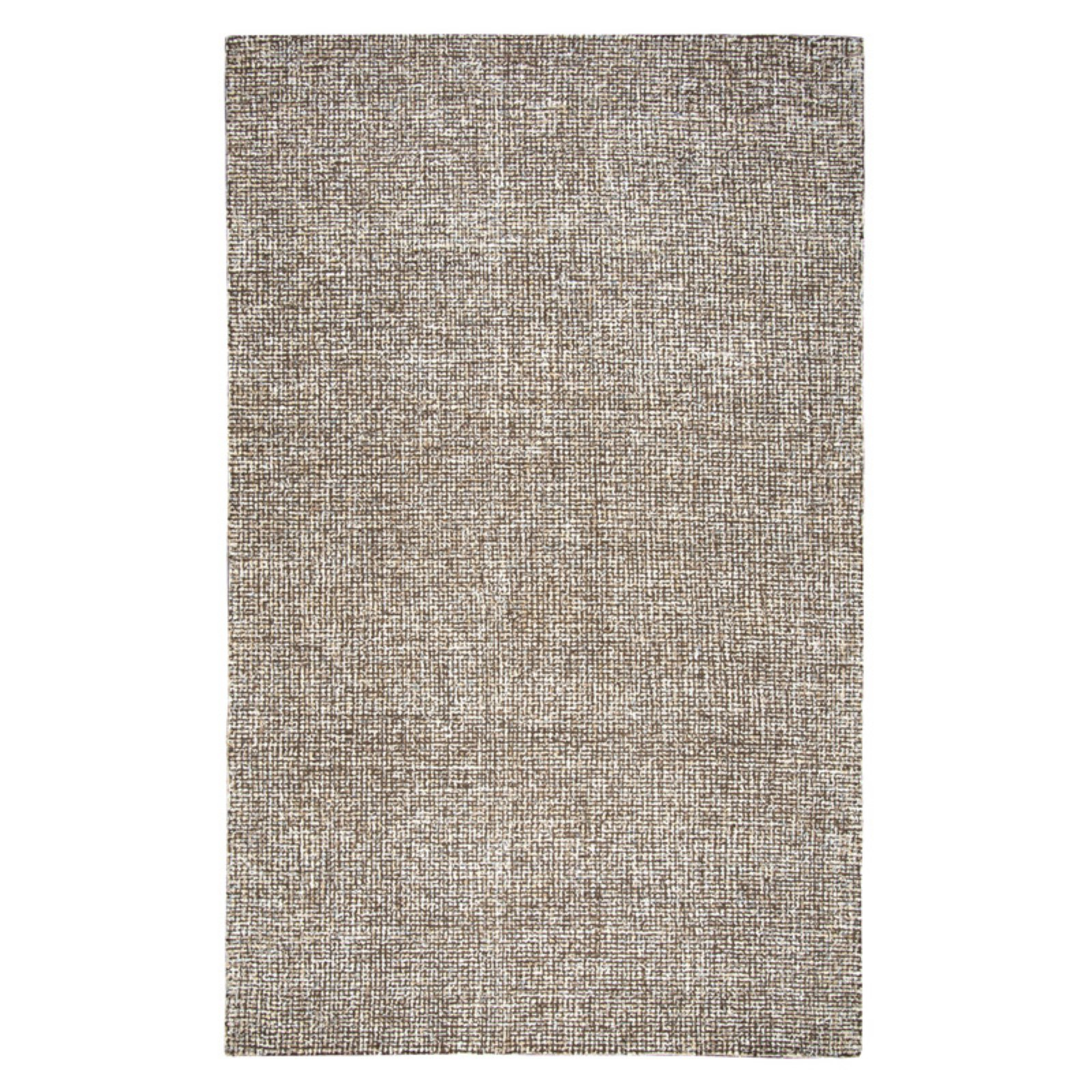 Rizzy Home Brindleton Br360A Brown / Ivory Area Rug 9 Feet x 12 Feet