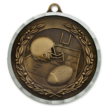 Football Award Sports Bulk Medal   Gold  Silver And Bronze