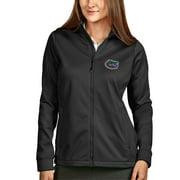 Florida Gators Antigua Women's Golf Full-Zip Jacket - Black