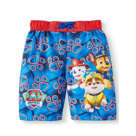 Character Swim Trunk (Little Boys) (Fishing Swim Trunks)
