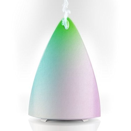 Essential Oil Diffuser for Aromatherapy - Best Ultrasonic Cool Mist Humidifier with Multi-Color LED - Energy Saving Quiet Electric (Best Flash Diffuser 2019)