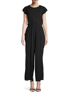 Time and Tru Women's Woven Jumpsuit