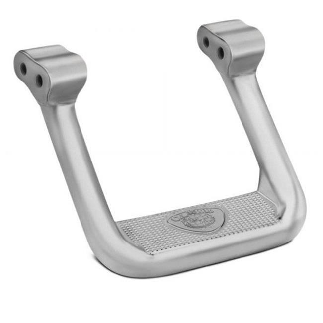 10 in. Titanium Silver Powder Coat Hoop II Single Step