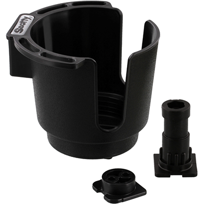 Scotty Cup Holder with Rod Holder Post and Bulkhead