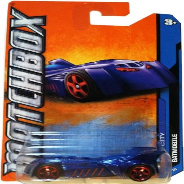 2012 Matchbox Batmobile (1 64 scale) by Mattel