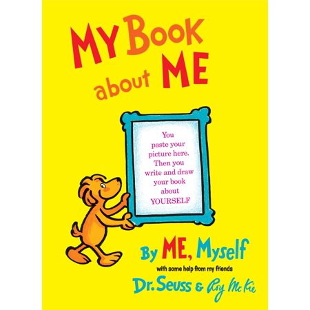 My Book about Me by Me Myself (Hardcover) (All About Me Art Projects For Toddlers)