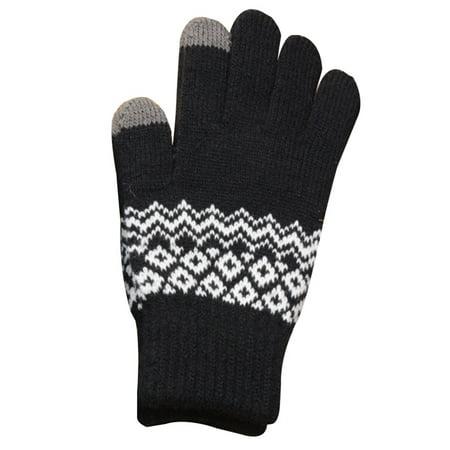 Fancyleo Women Winter Warm Mittens Wool Knitted Touch Screen Gloves US STOCK - Stock Globe