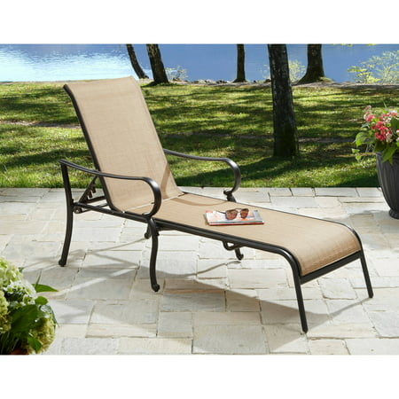 Better Homes & Gardens Warrens Outdoor Chaise Lounge ()