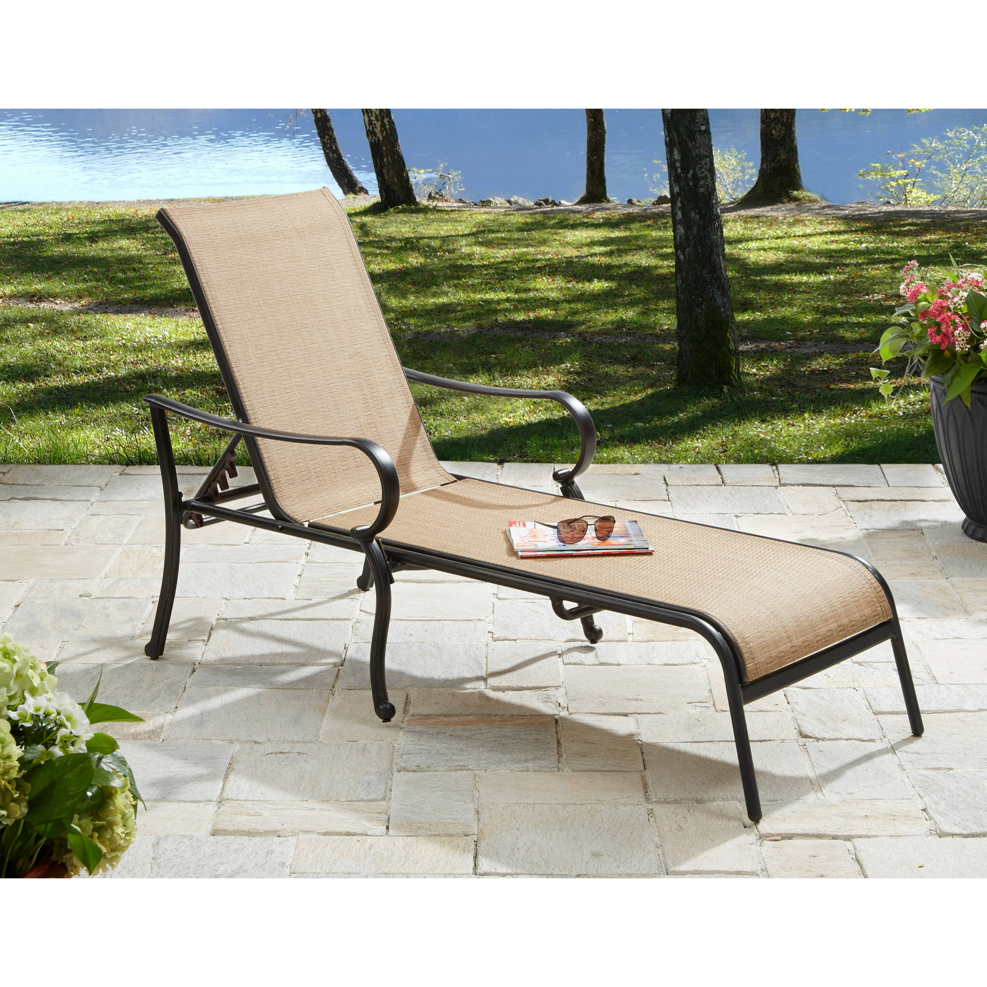 Better Homes & Gardens Warrens Outdoor Chaise Lounge