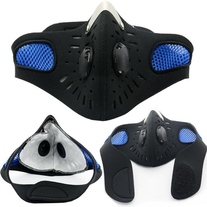 Anti-Pollution City Cycling Mask Mouth-Muffle Dust Mask Sports Face Mask by