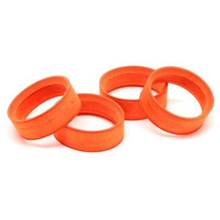Gas Touring Car - Integy RC Toy Model Hop-ups RIDE-MS24-C30 RIDE Orange Color Medium Molded Inserts (4) for 1/10 Touring Car