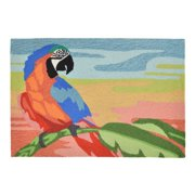 Liora Manne Frontporch 1578/27 Macaw Sunset Indoor / Outdoor Doormat