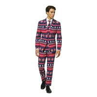 OppoSuits Men's Nordic Noel Christmas Suit
