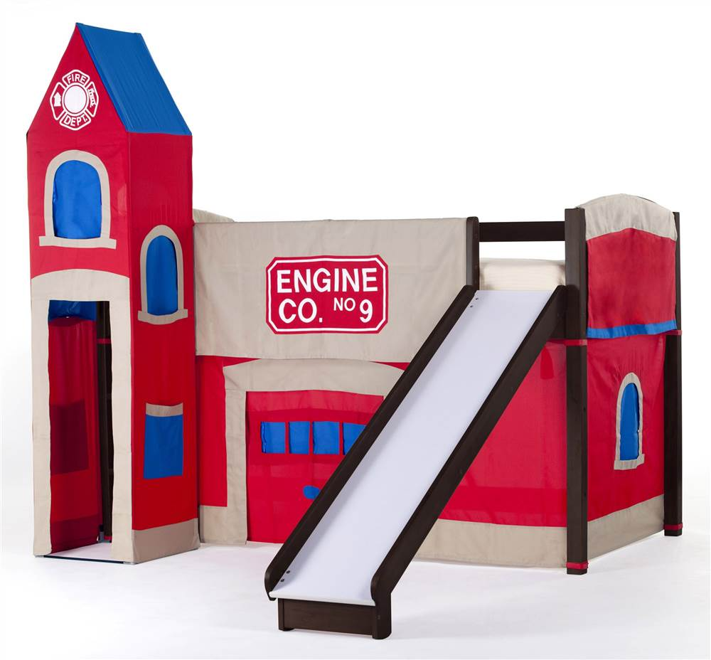 School House Firehouse Loft (Chocolate)