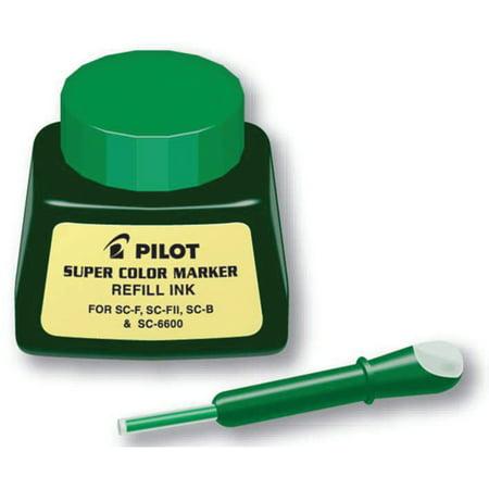 Pilot Super Color Permanent Marker Ink Refill, (Permanent Ink Remover)