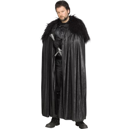 Winter Lord Cloak Game Of Thrones Adults Cape Halloween Costume-Plus Size