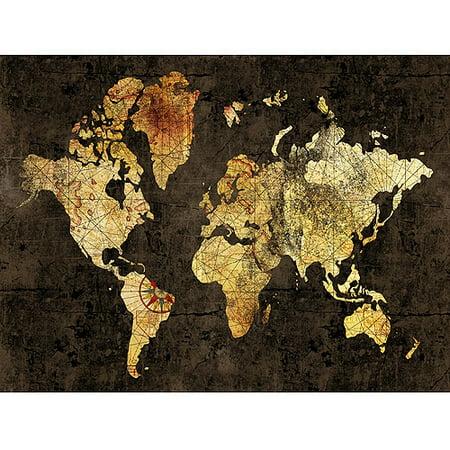World map ora style canvas wall art 40 x 30 walmart world map ora style canvas wall art gumiabroncs Images