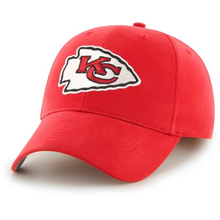 Men's Fan Favorite Red Kansas City Chiefs Mass Basic Adjustable Hat - - Chiefs Hats