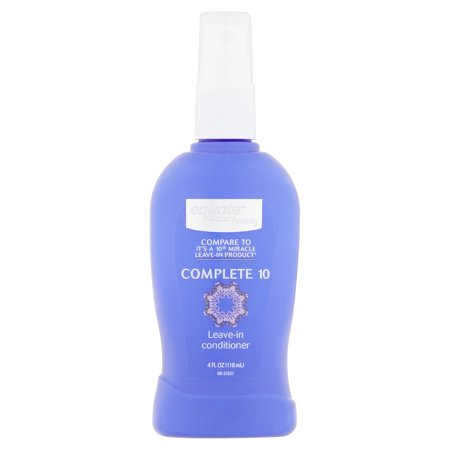 They Leave (Equate Beauty Complete 10 Leave-in Conditioner, 4 fl oz)