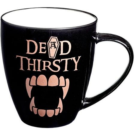 Alchemy of England Dead Thirsty Bone China Mug Black