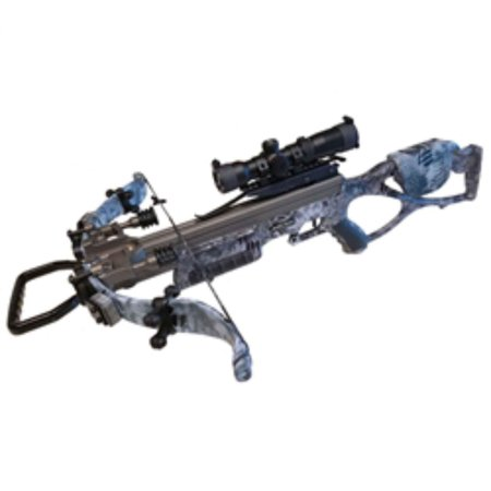 Excalibur E98406 Micro Raid 335 Tact-Zone Suppressed Kryptic Camo Crossbow