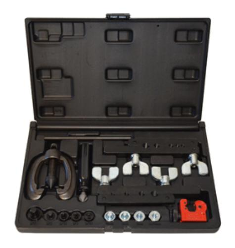 Horizon Tool Inc 82900 Double And Bubble Flaring Tool Kit Metric And Sae