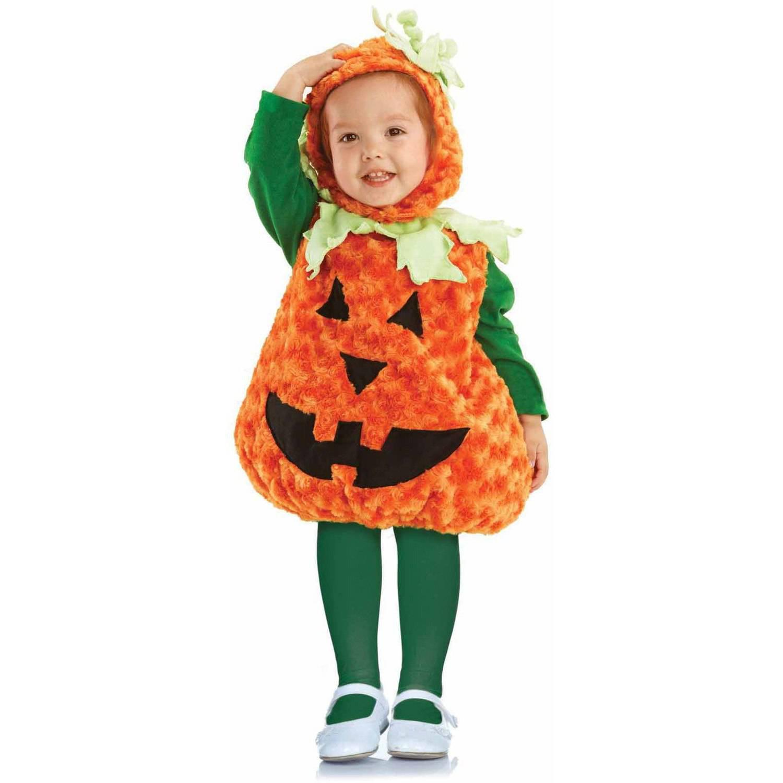 Pumpkin Girls' Toddler Halloween Costume