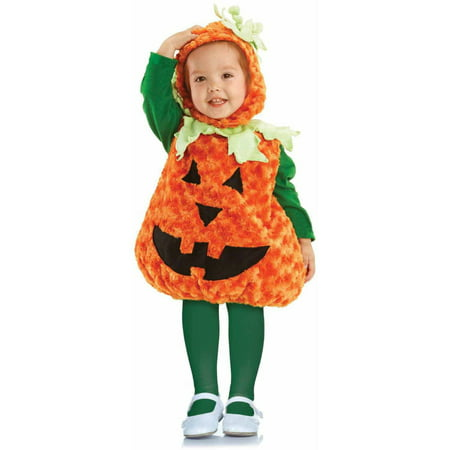 Pumpkin Girls' Toddler Halloween Costume (Led Halloween Costumes For Sale)