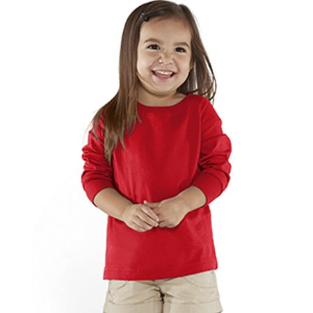 Rabbit Skins Drop Ship Toddler Long-Sleeve Fine Jersey (Old Navy Toddlers)