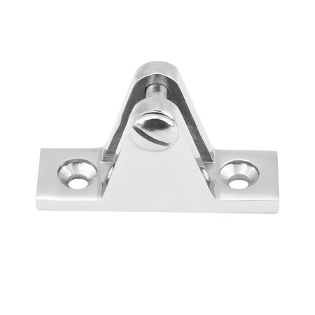 HERCHR Stainless Steel Marine Boat Deck Hinge Mount for Bimini Top Fitting Hardware,Deck Hinge Mount, Marine Deck Hinge Mount Bimini Deck Hinge