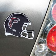 Atlanta Falcons Metal Helmet Domed Auto Emblem