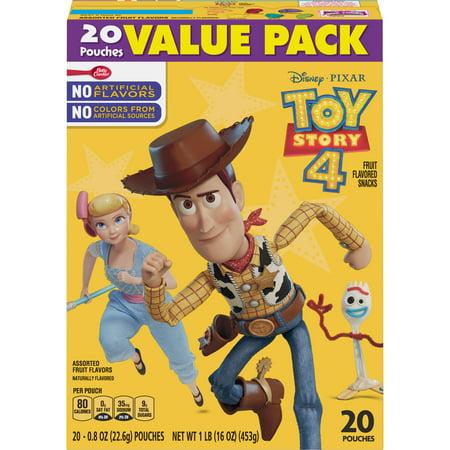 Disney Toy Story Fruit Snacks 20 pouches Betty Crocker Snacks