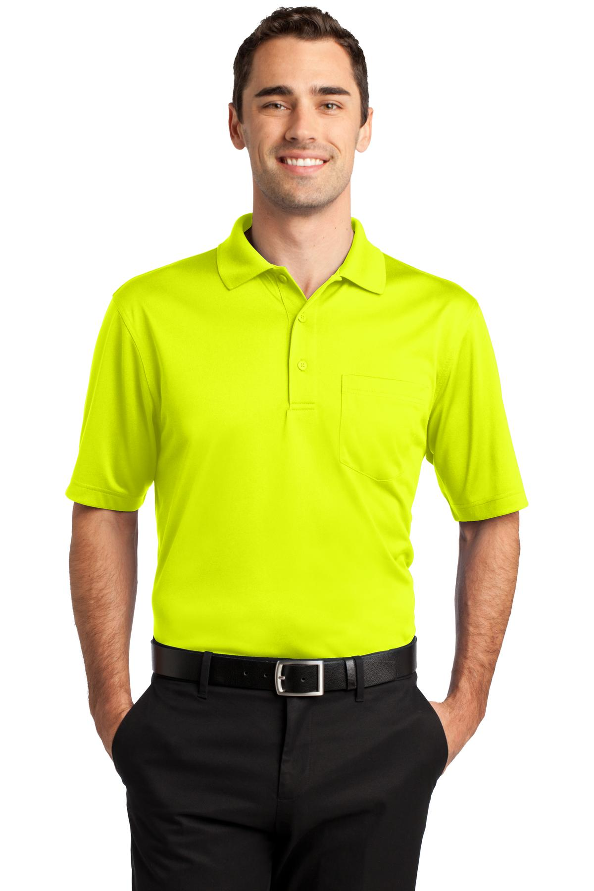 CornerStone Mens Select Snag-Proof Pocket Polo