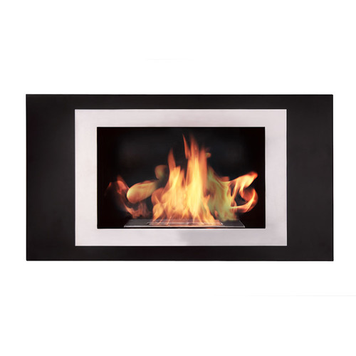 BioFlame Lorenzo Wall Mount Ethanol Fireplace