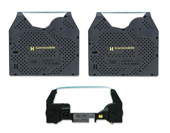 Free Shipping Smith Corona WP135 2PK Ribbon and 1PK Correction Tape Cassette