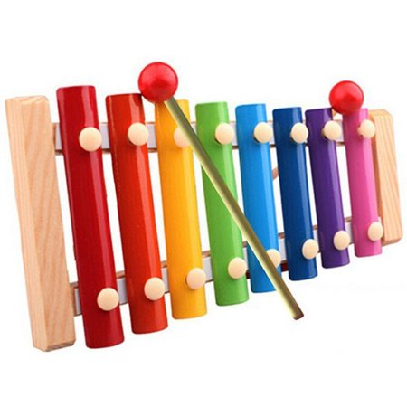 Baby Kid Musical Toys Xylophone Wisdom Development Wooden Instrument (Toddler Musical Instruments)