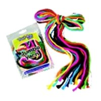 Trait-Tex Acrylic Jumbo-Weight Yarn & 5 Ft.  Plastic Storage Bag, Pack 12