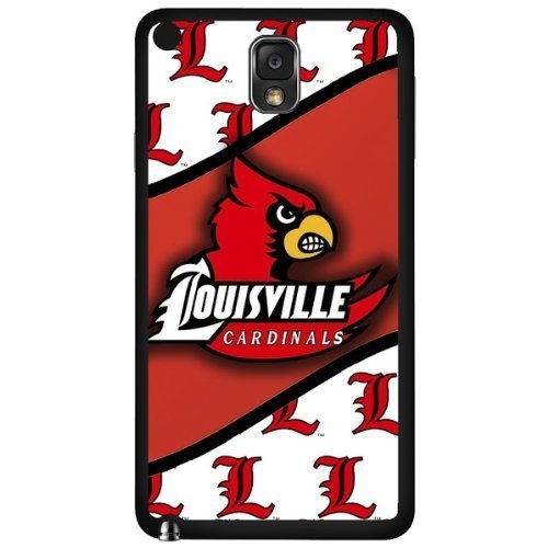 Ganma Louisville Cardinals Red and White Sports Football Team Hard Cell Phone Case Cover Case For Samsung Galaxy N9000 (note 3)