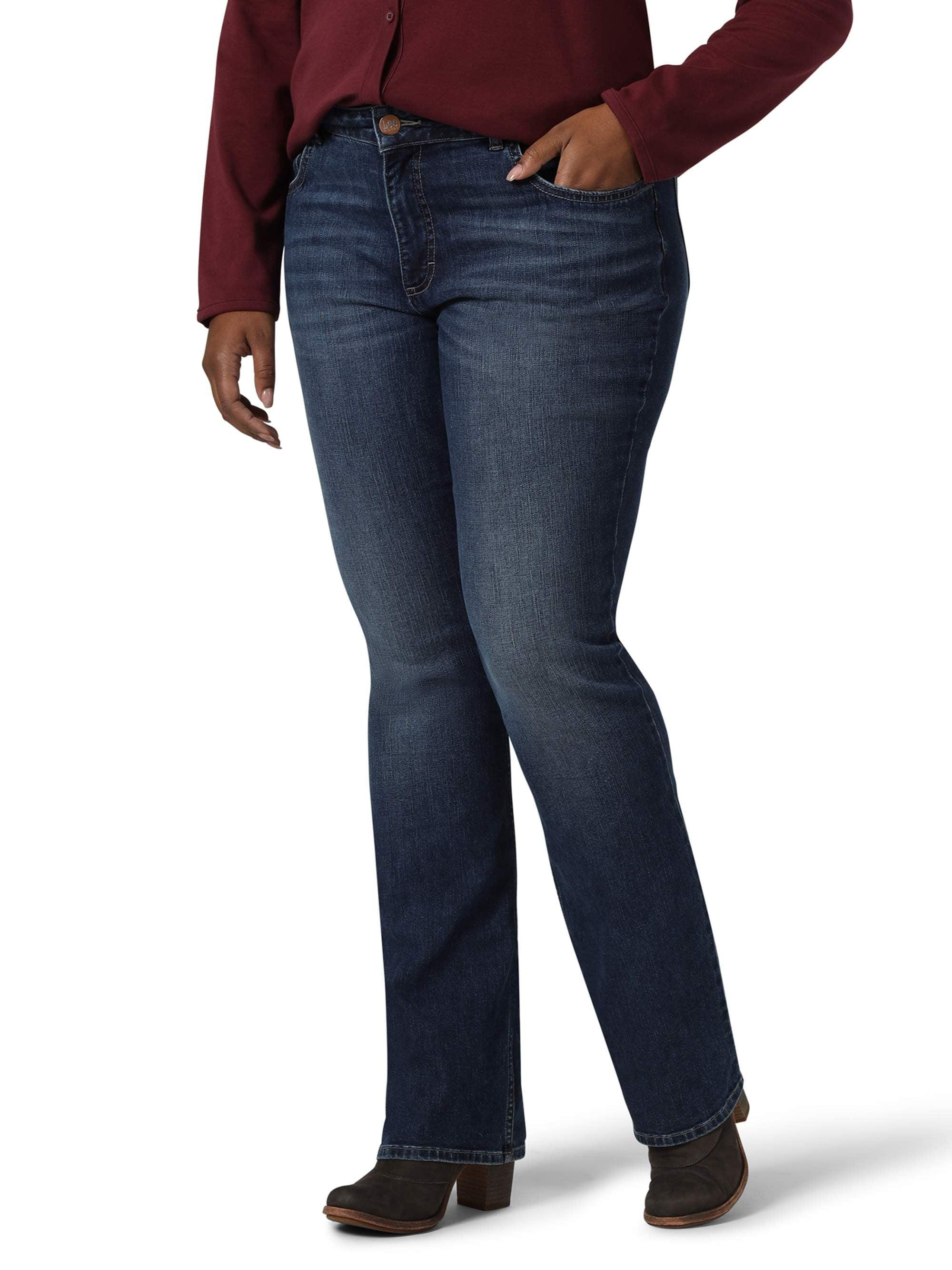 Vintage Wrangler Mid Waist Flare Leg Women/'s Retro Jeans 26W to 44W