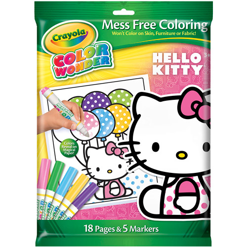 Crayola Color Wonder Hello Kitty Kit