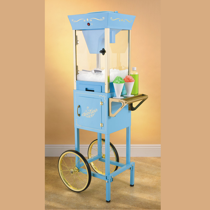 Nostalgia Scc200 Old Fashioned Carnival Snow Cone Cart
