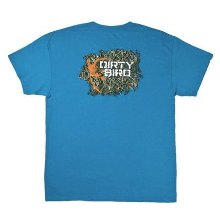 d06afc5ac9 Browning - NWT Browning Men's Distressed Dirty Bird Tee Blue Short Sleeve  T-Shirt Size L - Walmart.com