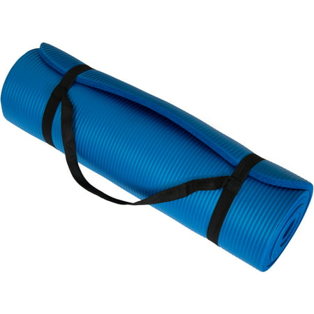 Wakeman Fitness Extra-Thick Yoga Exercise Mat, Available in Various