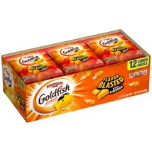 Goldfish Flavor Blasted Snack Packs