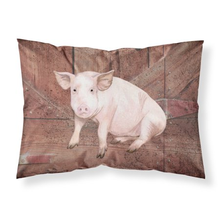 Pig at the barn door Moisture wicking Fabric standard pillowcase SB3072PILLOWCASE