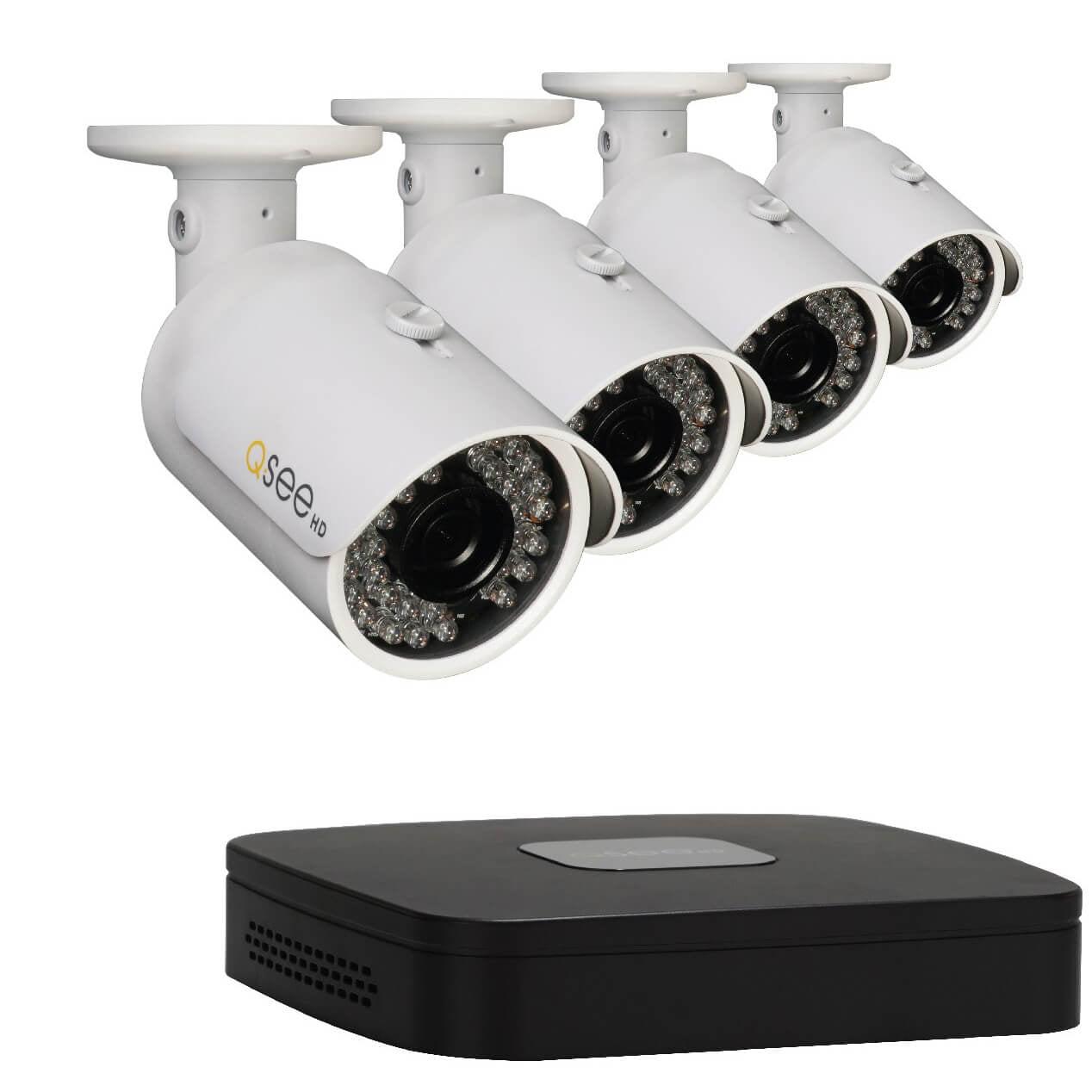 Q-See QC918-4Y6-1R 8-Channel Network DVR Surveillance Kit...