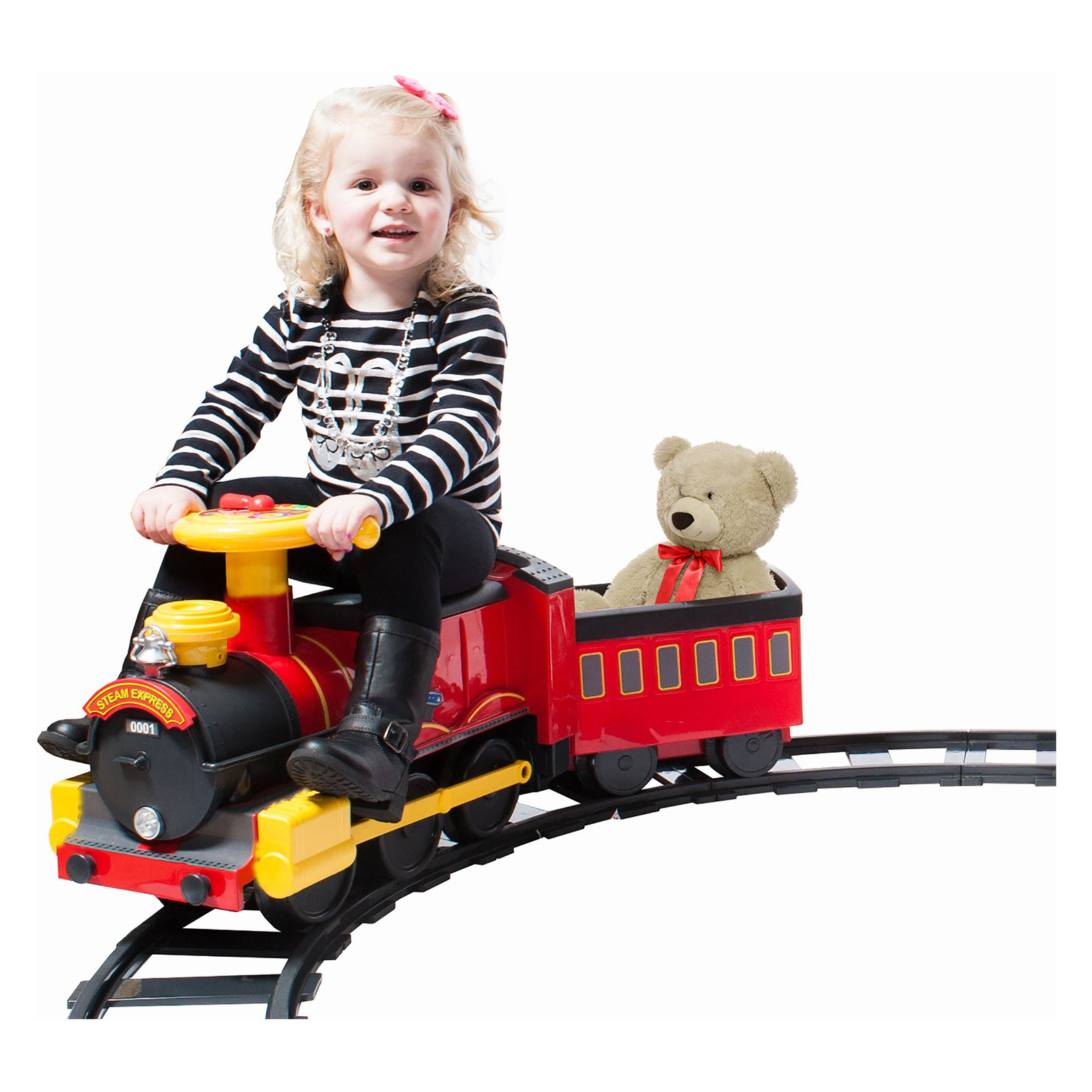 Rollplay Steam Train 6V Battery Powered Riding Toy
