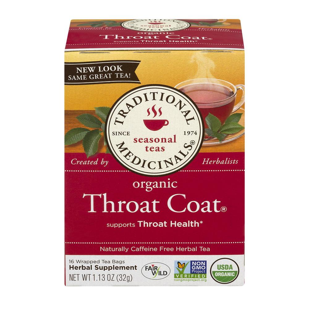 What is in throat coat tea